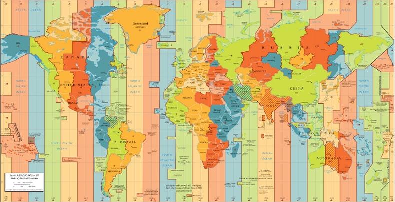 Huso horario mundial
