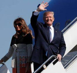 Donald Trump inicia gira por Asia