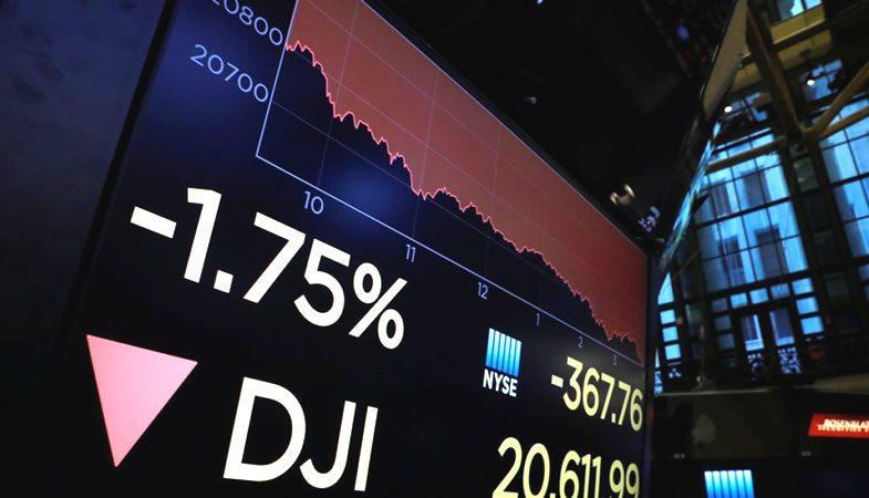 Desplome de Bolsas Mundiales