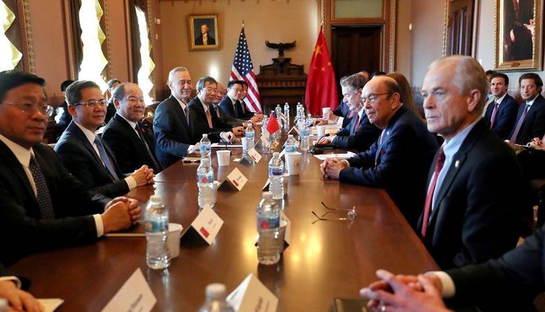China y Estados Unidos reinician las negociaciones comerciales
