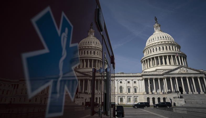 Estados Unidos anuncia medidas económicas para contener la crisis del coronavirus